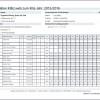 Kontroll-Liste der Excel-Meldung nach KiBiz.web