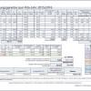 Beispielansicht der ermittelten Werte für die Planungsgarantie