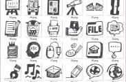 Handgezeichnete Beispiel-Bilder für Kinder ab 3 Jahren