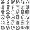 Handgezeichnete Beispiel-Bilder zum Thema Kommunikation allgemein