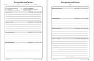 Beispiel-Portfolio-Vorlage Kompetenzreflexion