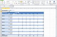 Modifizierte und ergänzte Microsoft Excel Pivot-Tabelle