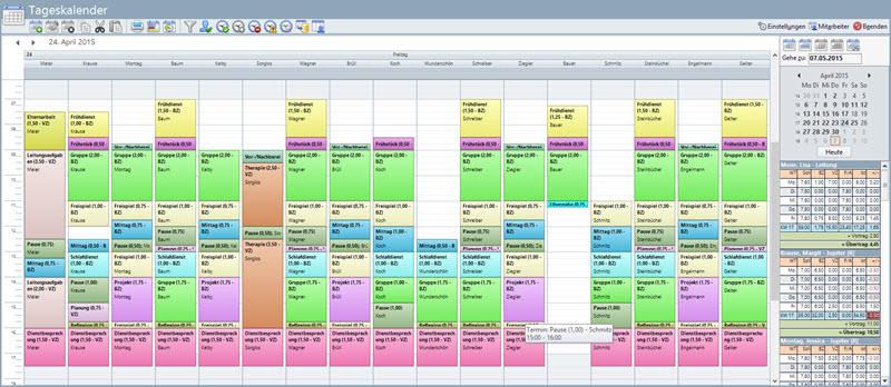 Dienstplan Kitathek Pro