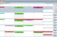 Bearbeitung der Fehlzeiten in der Kalenderansicht (Tag-, Arbeitswoche-, Wochen- und Monatsansicht auswählbar)