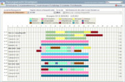 Planungsansicht: Optionale Integration der Überstunden im Dienstplan